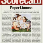 Paper Lioness (SI)