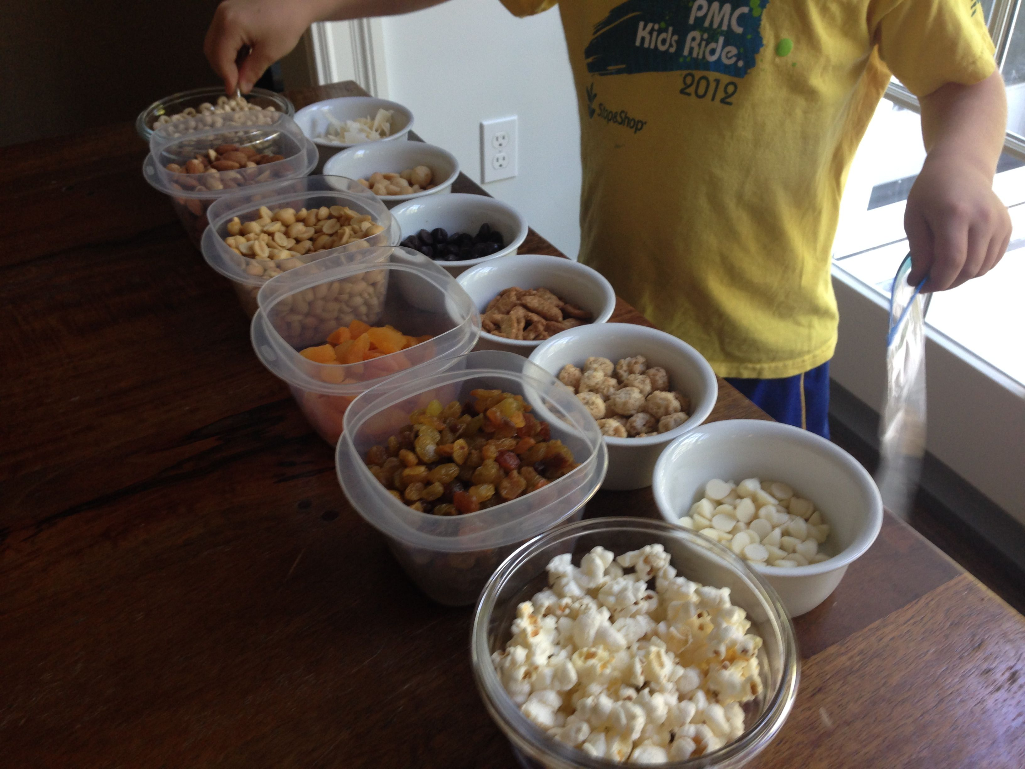 Make-Your-Own Trail Mix