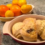 orange cranberry scones 3