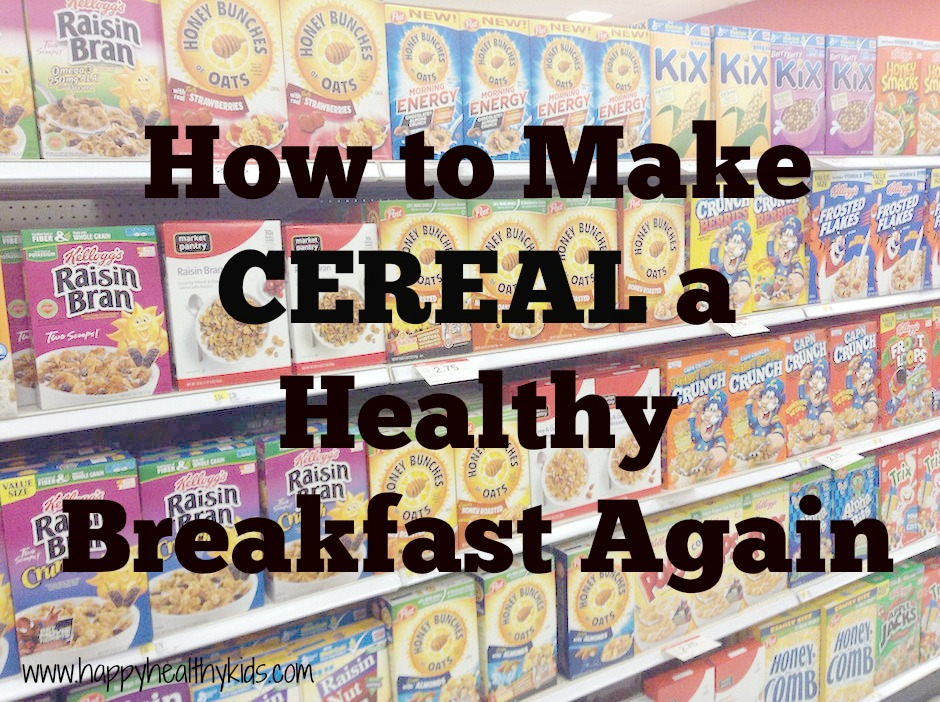 is cereal a healthy breakfast