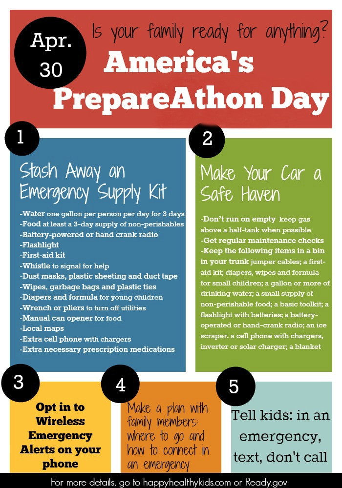 emergency preparedness for families