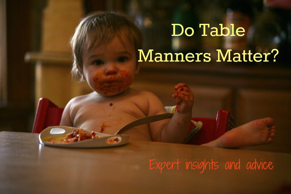 kids table manners
