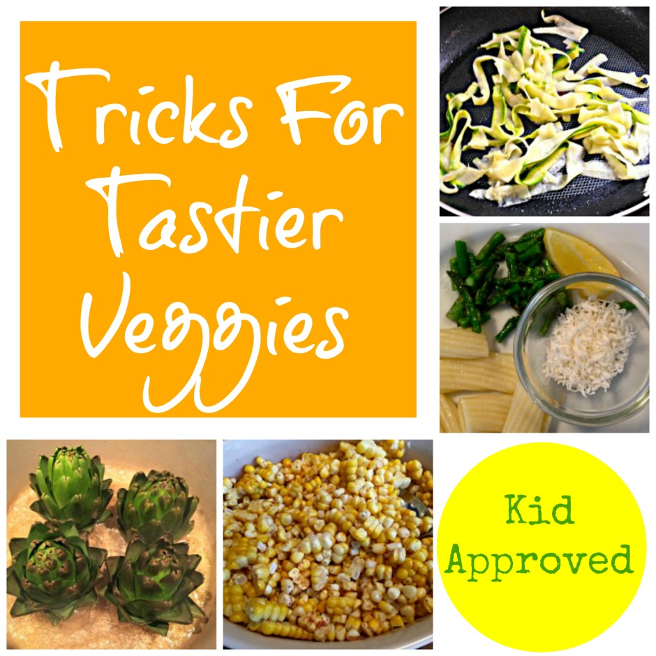 tricks for tastier veggies