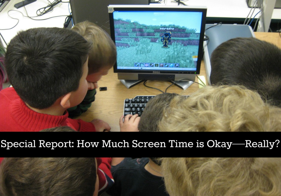 how much screen time is okay