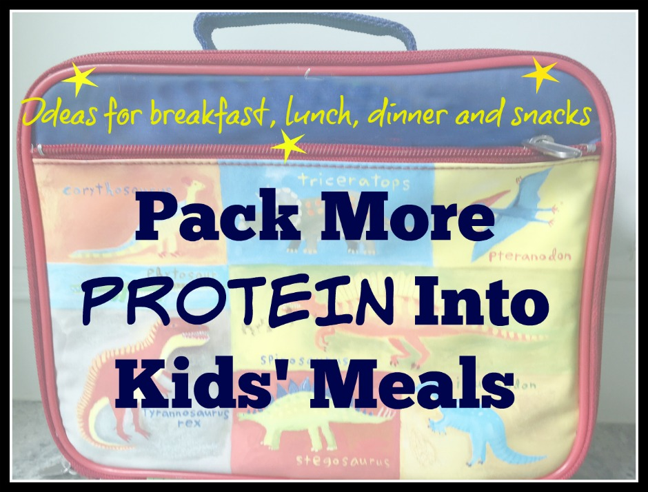 pack more protein into kids' meals