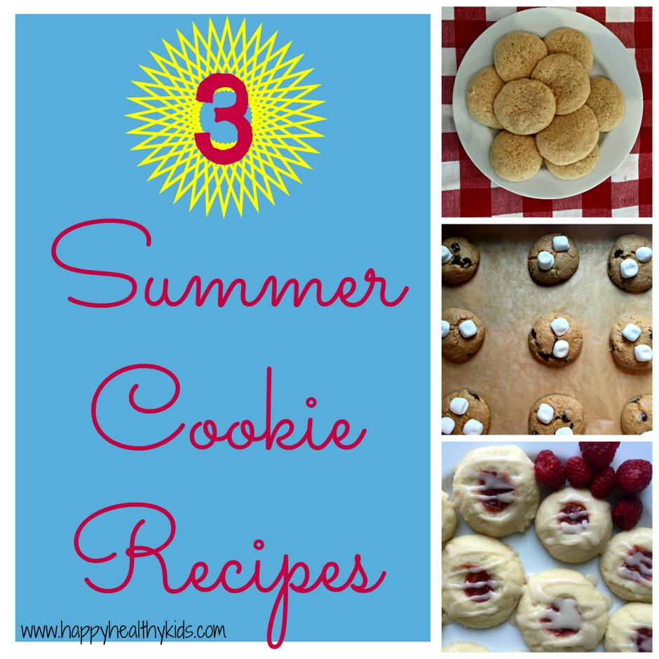 3 summer cookie recipes
