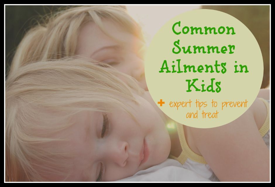 common summer ailments in kids