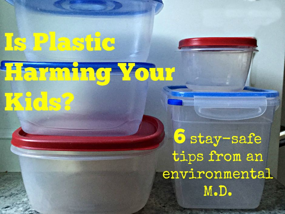 do plastic containers harm kids