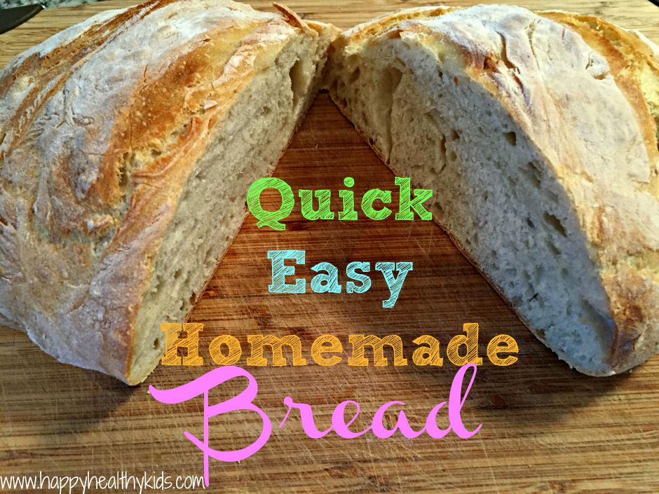quick easy homemade bread