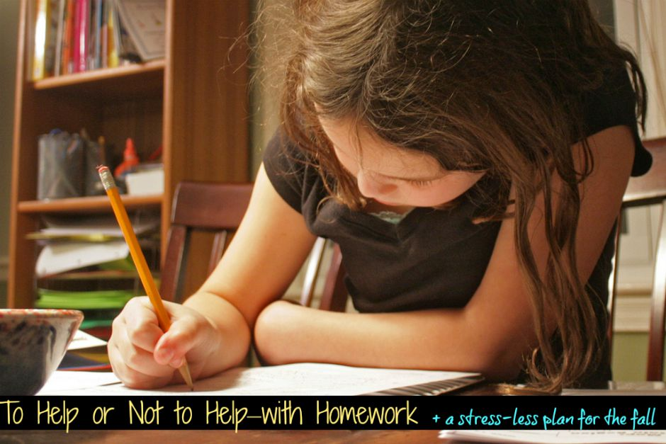 should parents help with homework