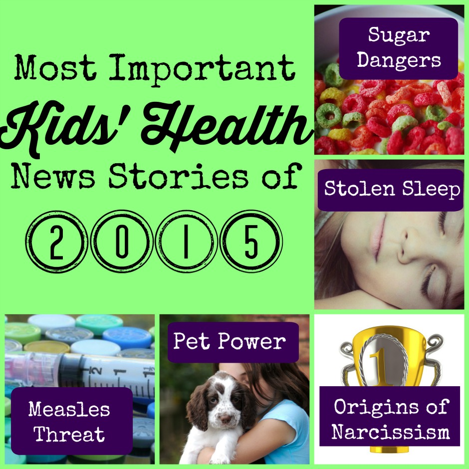 most important kids' health news stories of 2015