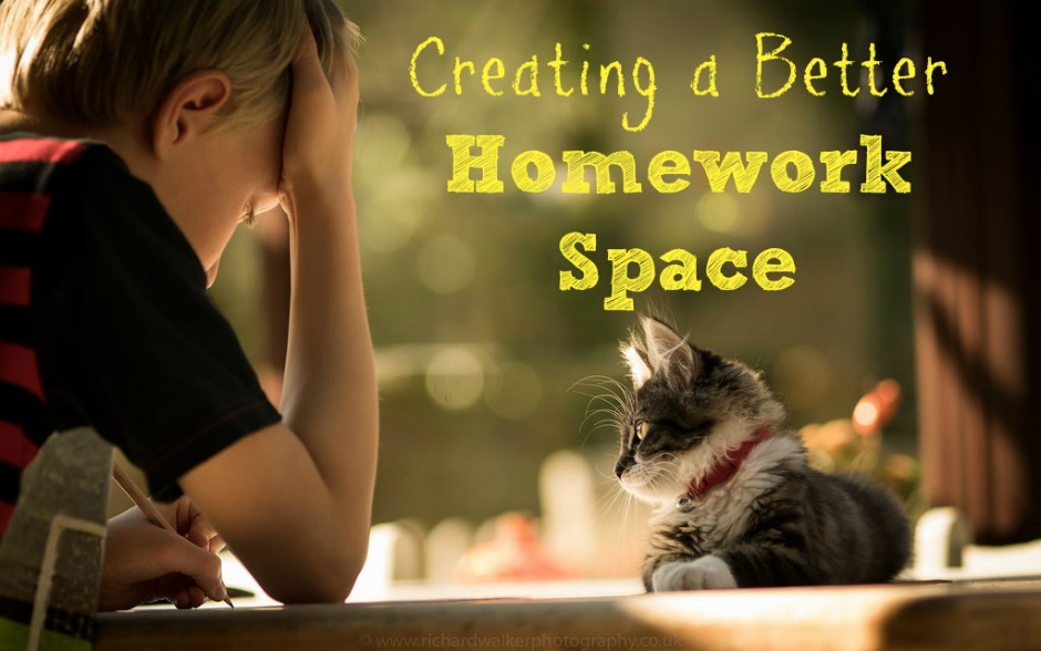 creating a better homework space
