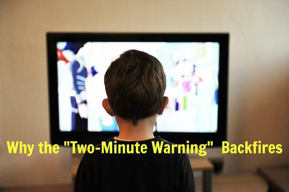 why the two-minute warning backfires