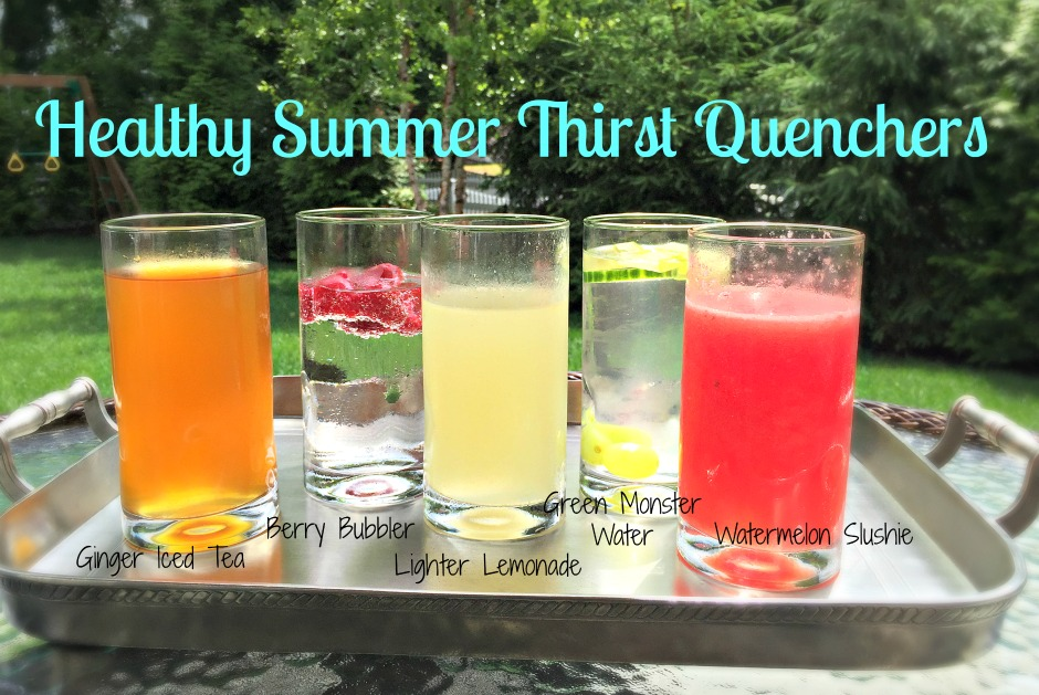 healthy summer thirst quenchers