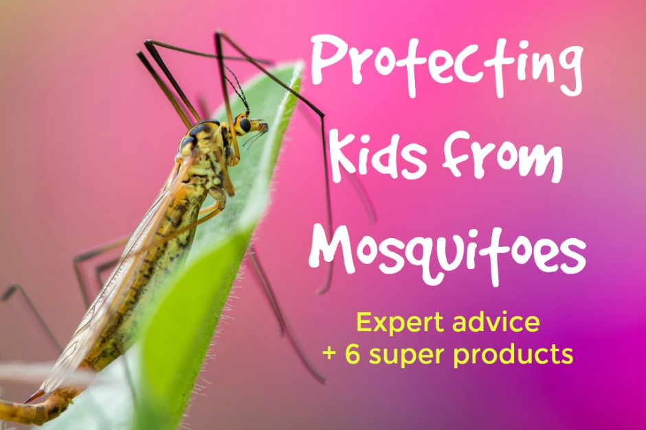 protecting kids from mosquitoes
